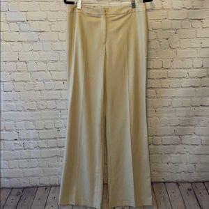 Dolce & Gabbana khaki flat front trouser pant 42